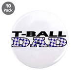 "T-Ball Dad 3.5"" Button (10 pack)"