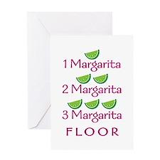 1-2-3-Margarita - Greeting Card