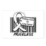 Lung Cancer Cure Postcards (Package of 8)