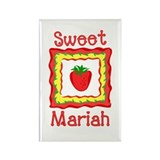 Sweet Mariah Rectangle Magnet