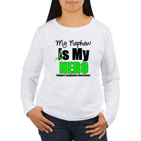Lymphoma Hero (Nephew) Women's Long Sleeve T-Shirt