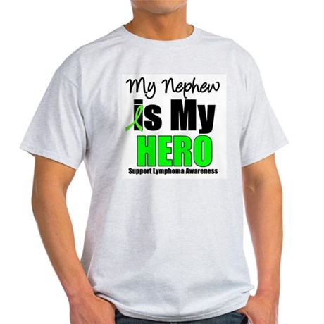 Lymphoma Hero (Nephew) Light T-Shirt