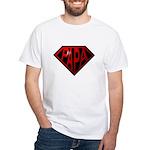 papa White T-Shirt