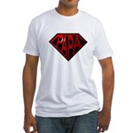 papa Fitted T-Shirt