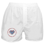 I Love Heart America Boxer Shorts