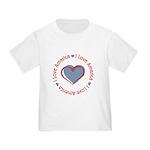 I Love Heart America Toddler T-Shirt