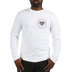 I Love Heart America Long Sleeve T-Shirt