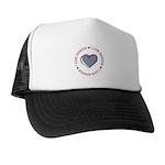 I Love Heart America Trucker Hat