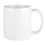 American Flower Red White Blue Mug