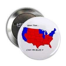"Color Me Blue 2.25"" Button (10 pack)"