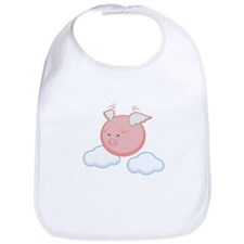 Sky Flying Pig Bib