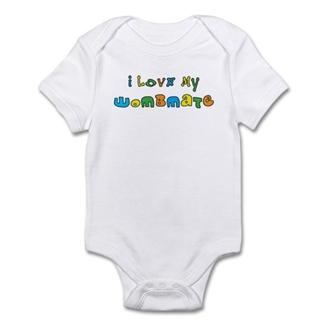 I Love My Wombmate Infant Bodysuit
