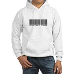 Basketball Player Barcode Hooded Sweatshirt