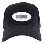 Basketball Player Barcode Black Cap