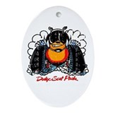 Dodge Scat Pack Oval Ornament
