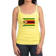 Flag of Zimbabwe Jr.Spaghetti Strap