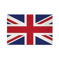 Flag of the United Kingdom Rectangle Magnet (100 p