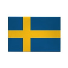 Flag of Sweden Rectangle Magnet (10 pack)