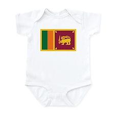 Flag of Sri Lanka Infant Bodysuit