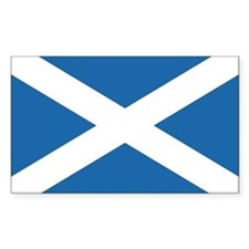 Flag of Scotland Rectangle Bumper Stickers