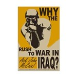 Why the Rush to War? 11x17 Poster Print
