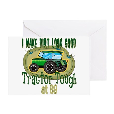 Tractor Tough 89th Greeting Card