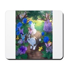 Cute Corgi dogs Mousepad
