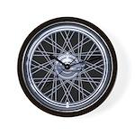 Spoke Wheel Wall Clock
