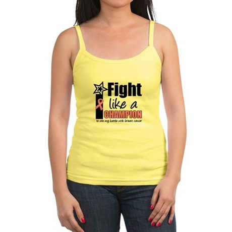 I Fight Like A Champion Jr. Spaghetti Tank