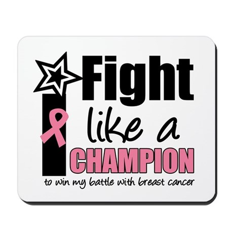 I Fight Like A Champion Mousepad