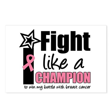 I Fight Like A Champion Postcards (Package of 8)