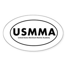 USMMA Decal (Oval)