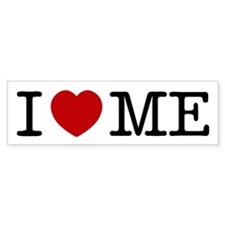 I LOVE ME By RIFFRAFFTEES.COM Bumper Sticker