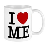I LOVE ME By RIFFRAFFTEES.COM Small Mug