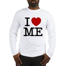 I LOVE ME By RIFFRAFFTEES.COM Long Sleeve T-Shirt