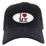 I LOVE ME By RIFFRAFFTEES.COM Baseball Hat