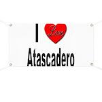 I Love Atascadero Banner