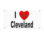 I Love Cleveland Banner