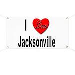 I Love Jacksonville Florida Banner