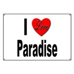 I Love Paradise Banner