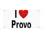 I Love Provo Banner