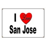 I Love San Jose California Banner