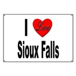 I Love Sioux Falls Banner