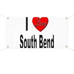 I Love South Bend Banner