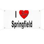 I Love Springfield Banner
