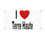 I Love Terre Haute Banner