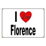 I Love Florence Italy Banner