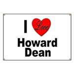 I Love Howard Dean Banner