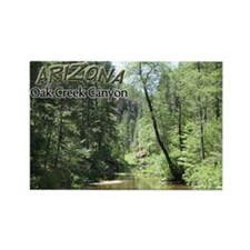 Arizona Oak Creek Canyon Rectangle Magnet