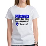 I Beat Cancer (Blue) Tee